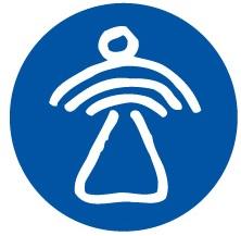 Logo Spe Gaudentes Engel in rondje